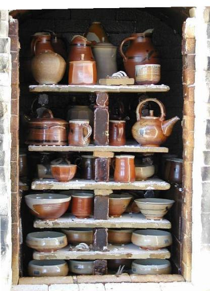 The Kiln After Firing
