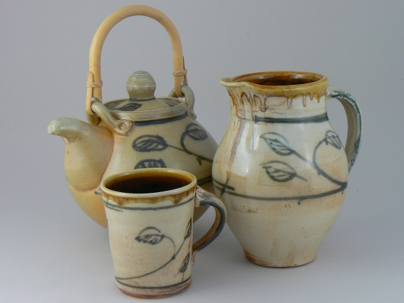 Teapot, Mug and Jug